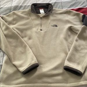 Fleece North Face Pull-over